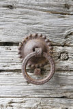 Old door knockers Royalty Free Stock Photo