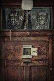 Old door  3 kor Stock Image