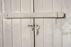 Old door latch. Stock Image