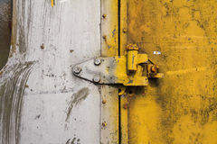 Old door latch Royalty Free Stock Image