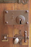 Old door lock Royalty Free Stock Image