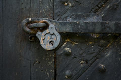 Old door lock Royalty Free Stock Photography