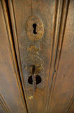 Old door lock Stock Image