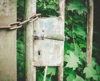 Old door lock Stock Images