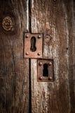 Old door lock Stock Image