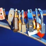 Old door locks Stock Images