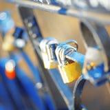 Old door locks Royalty Free Stock Images