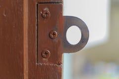 Old door locks vintage styles Royalty Free Stock Photos