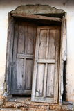 Old Door. Old looking door in the back streets of Kalkan in Turkey Royalty Free Stock Image