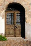 Old door made of wood Royalty Free Stock Photo