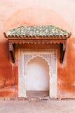 Old door Marrakesh Stock Photography