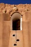 Old door in  of matmata Stock Image