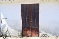 Old door royalty free stock image