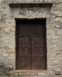 Old Door at the Mission Stock Photography