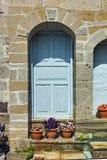 Old door  Monastery St. Joachim of Osogovo, Republic of Macedonia Royalty Free Stock Images