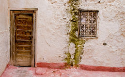Old door in morocco Stock Photography