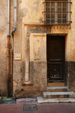 Old door, Nice, France Royalty Free Stock Photos