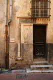 Old door, Nice, France Royalty Free Stock Photos