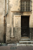Old door, Nice, France Royalty Free Stock Image