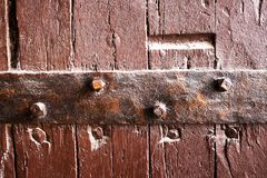 Old Door. In the historical mosque Stock Photography