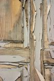 Old door. With peeling paint Royalty Free Stock Photo