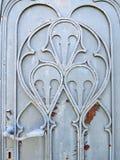 Old door ornaments Stock Photo