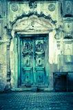 Old door. An old door at Patiala Stock Images
