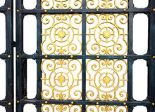 Old door patterns Alloys isolated background. Save selection to clipping path Old door patterns Alloys stock images