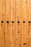 Old door planks Royalty Free Stock Photo