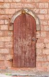 Old door in Riga, Latvia Royalty Free Stock Image