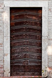 Old door, Rome, Italy. Royalty Free Stock Photos