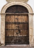 Old door Ronda2 Royalty Free Stock Photography