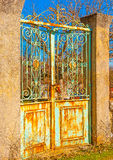 The old door Royalty Free Stock Images