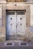 Old door of rural house Stock Image
