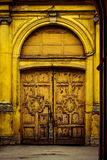 Old door. Old door at Sankt-Petersburg Royalty Free Stock Photos