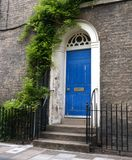 Old door on street Royalty Free Stock Photography