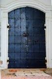 Old door. He door to the castle Royalty Free Stock Photography