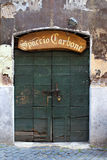 Old door, Trastevere, Rome, Italy Stock Photography