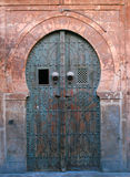 Old door in Tunisia Stock Photos