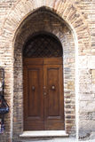 Old door in  Tuscany. Italy Royalty Free Stock Photography