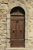 Old door in Tuscany No.1 Royalty Free Stock Images
