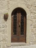 Old door in Tuscany No. 2 Royalty Free Stock Photography