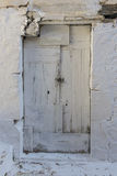 Old door Vasiliki, Lefkada, Ionian Islands Royalty Free Stock Photos
