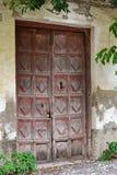 Old Door. Very old door in Spain in one of the Moorish buildings Stock Photo