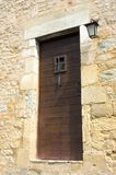 Old Door in the Village of Castelnaud Royalty Free Stock Photo