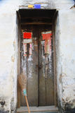 Old door in village,China Stock Photography