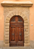 Old Door. Volterra, Tuscany Royalty Free Stock Image