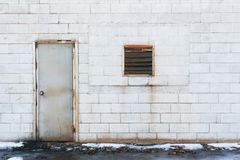 Old Door and Window Stock Photography