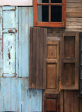 Old door and window Royalty Free Stock Photos