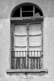 Old Door and Window in Montecchio, Italy Royalty Free Stock Photography